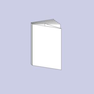 Druck von Booklet mit Fadenheftung