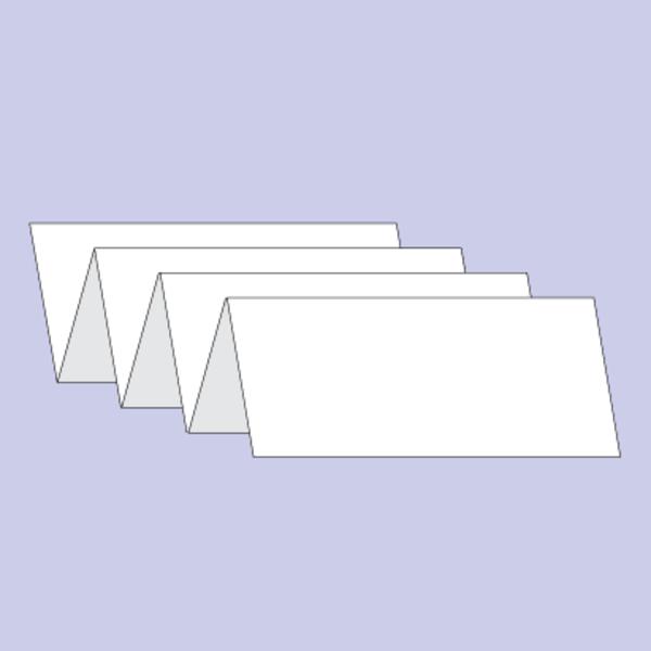 Druck von Beipackzettel als Leporellofalz/Zickzackfalz