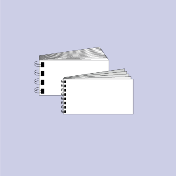 Druck von Booklet mit Wire-O-Bindung/Ringbindung