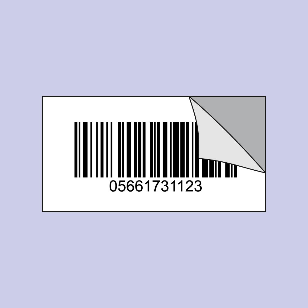 Barcode-Etiketten Druck