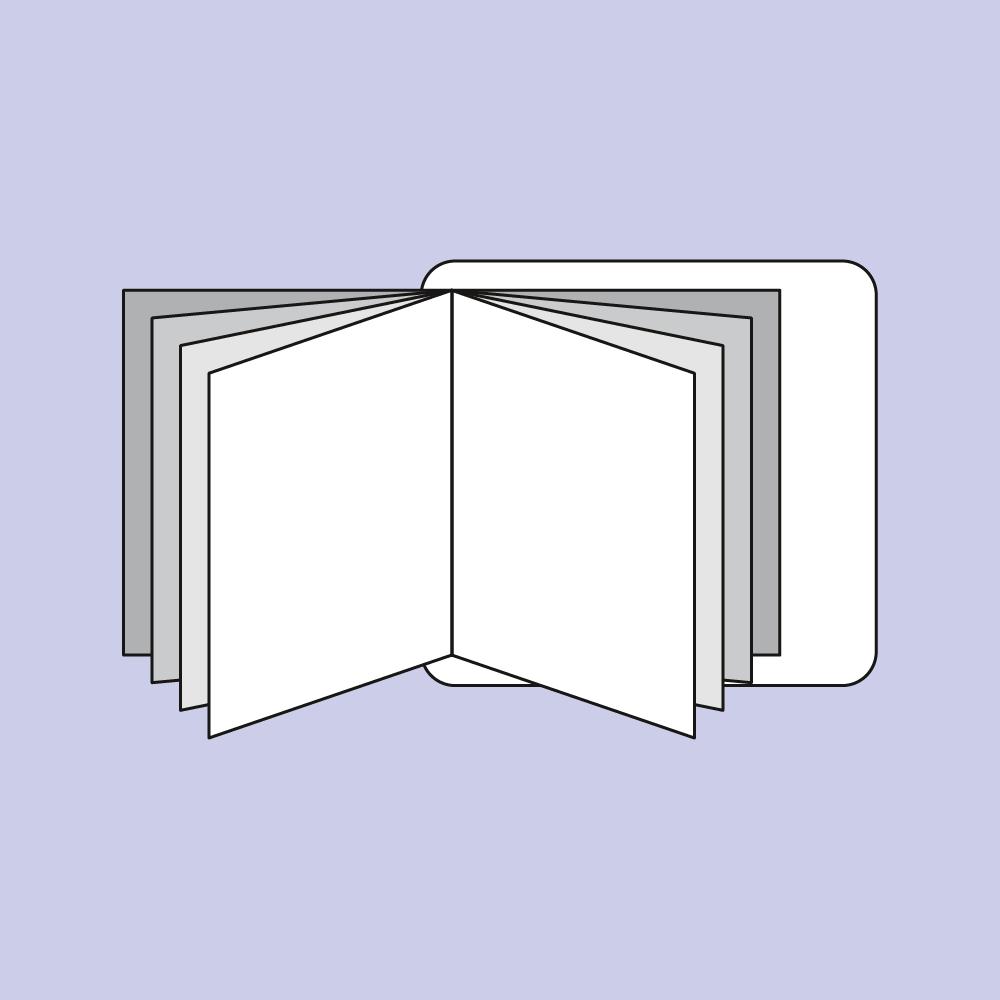 Booklet-Etiketten Druck