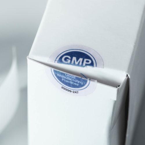 Klebeetiketten aus Folie als Tamper Evidence Lösung