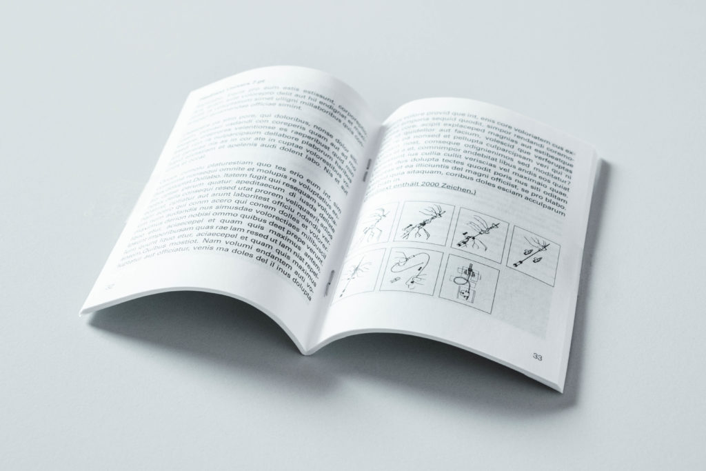 Booklet Druck Bindungsarten