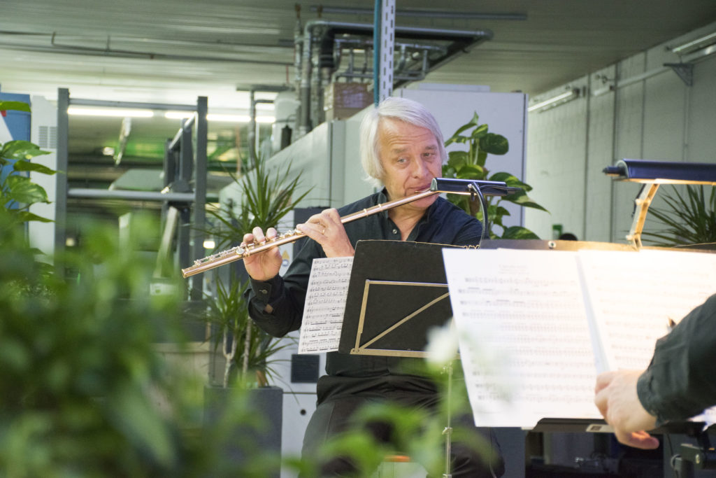 150 Jahre Bernecker, Musik im Drucksaal