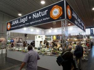 Messestand Jana Jagd+Natur