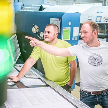 Ausbildung zum Medientechnologe Digitaldruck (m/w/d)
